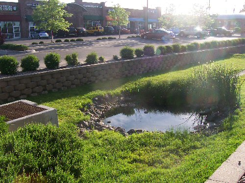 Water detention basin related keywords water detention for Design of stormwater detention ponds