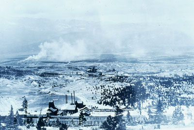Leadville smelters in the early 1900s