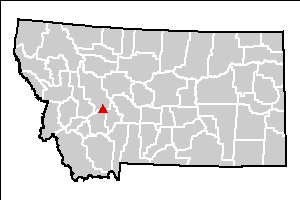East Helena Site location map