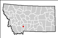 Idaho Pole Co. site location map