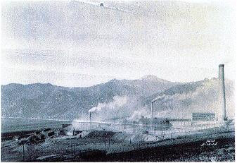 original IS&R smelter in 1921