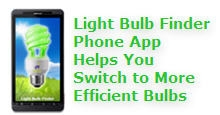 Light bulb finder phone app helps you switch to more efficient bulbs
