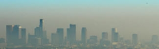 image of smog over LA