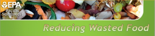 Reducing Wasted Food Banner