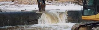 Dam Removal on Maumee River