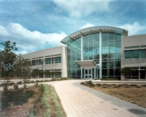 Photo of the National Computer Center in Research Triangle Park, North Carolina.