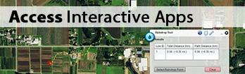 Header image showcasing EnviroAtlas rain drop tool
