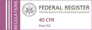 State SIPS in the Federal Register