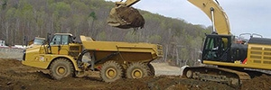 Image showing earth moving equipment