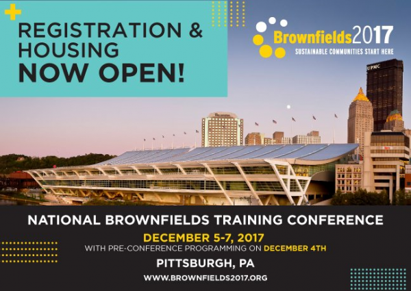 National Brownfields Training Conference 2017 Banner - Call for Ideas Extended
