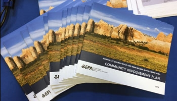 Community Involvement Plan Brochures