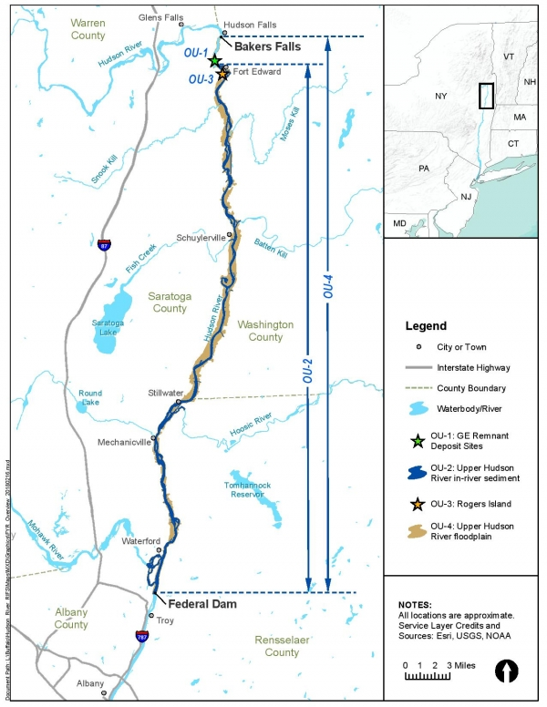 Floodplain Study Area Map