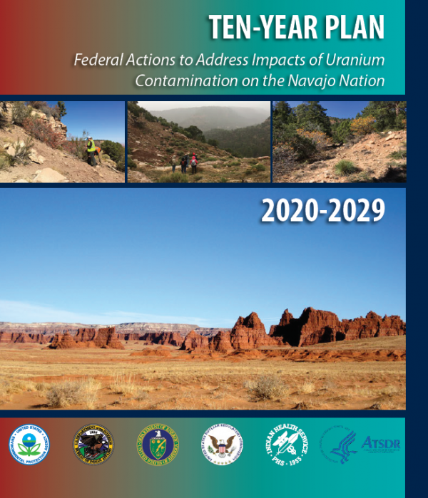 Cover of the Ten-Year Plan to Address Impacts of Uranium Contamination in the Navajo Nation