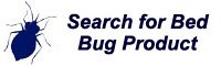 Bed bug products search tool