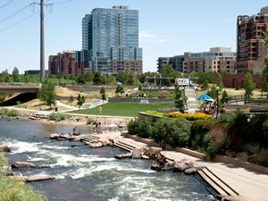 South Platte River, Denver, Colorado