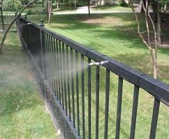 outdoor residential misting system