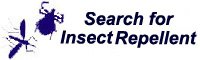 Insect repellent search tool