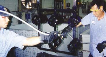 Photo of electroplating operations