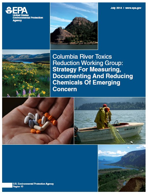 Cover image for Columbia River Chemcials of Emerging Concern Strategy