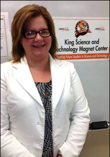 Ms. Denton has taught environment-oriented classes at King Science & Technology