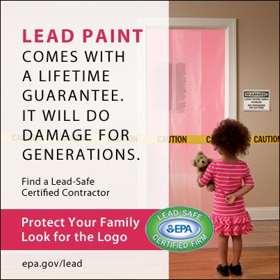 Look for the EPA Lead-Safe Certified Logo