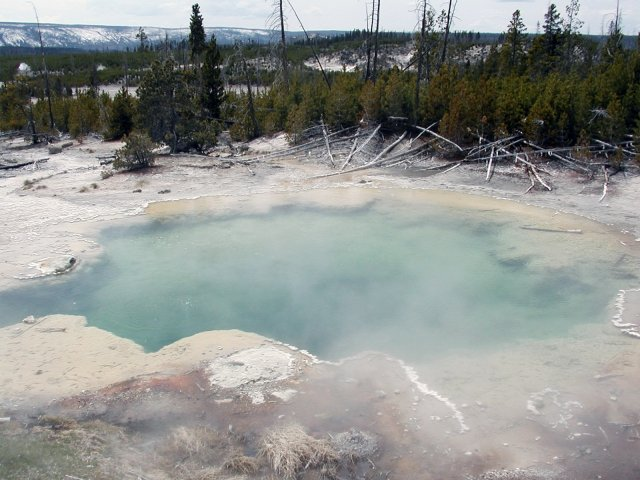 photo of hot spring