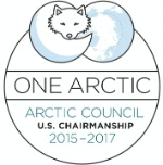 Logo of the U.S. Chairmanship of the Arctic Council