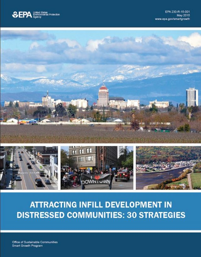 Cover of Attracting Infill Development in Distressed Communities