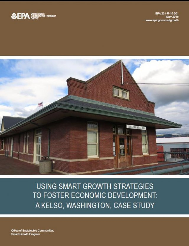 Cover of Using Smart Growth Strategies to Foster Economic Development