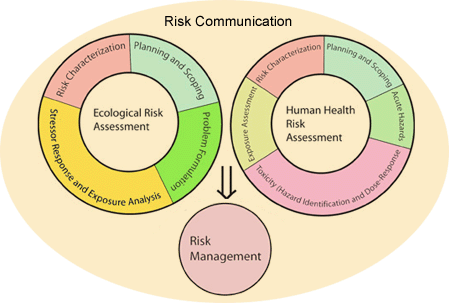 Risk communication diagram