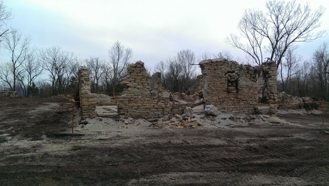 Historic structures preserved during cleanup