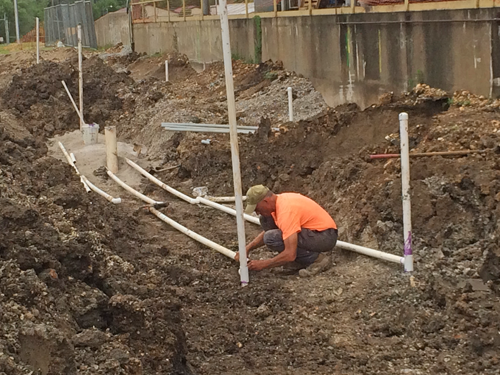 image of SVE piping assembly at Pools Prairie Superfund Site