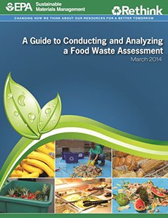this is a screenshot of the Food Waste Assessment Guidebook cover