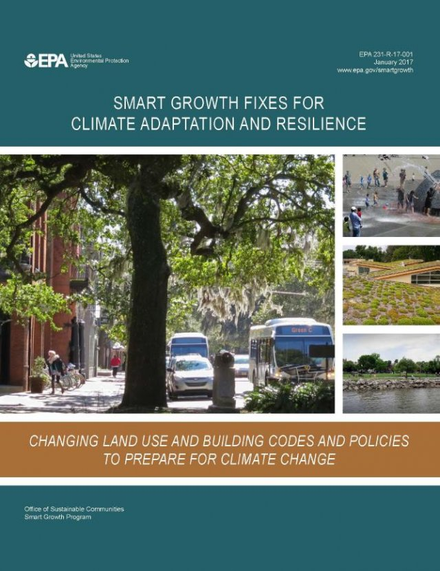 Cover of Smart Growth Fixes for Climate Adaptation and Resilience