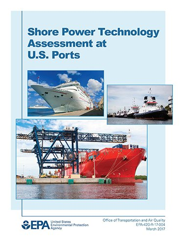 shore power technology assessment title page