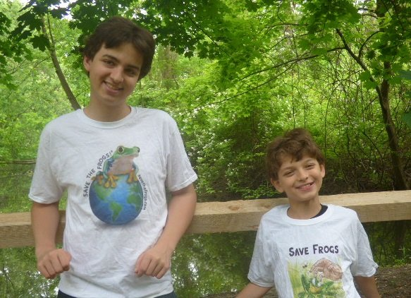 Devin and Roldan, 2016 Presidential Environmental Youth Award Winners