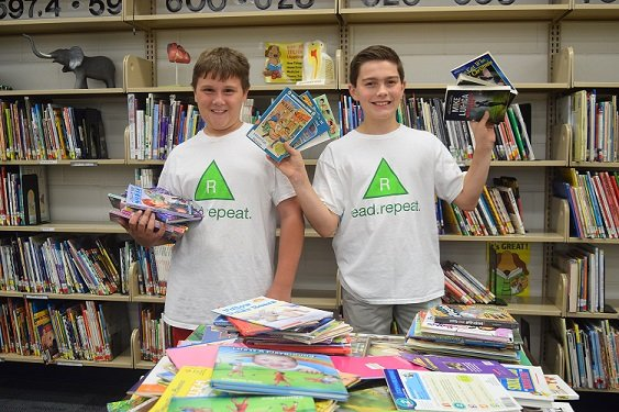 Chase and Vance, 2016 President's Environmental Youth Award Winners