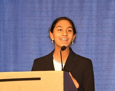 Shreya, 2016 President's Environmental Youth Award Winner