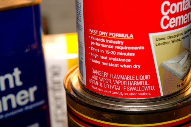 harmful chemicals in household products