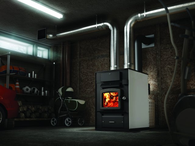 wood burner furnace