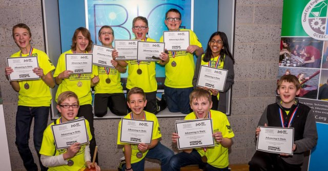 Image of Oak Ridge LEGO Blasters, Winners of the President's Environmental Youth Award