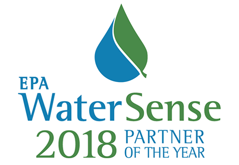 Logo for 2018 WaterSense Partner of the Year
