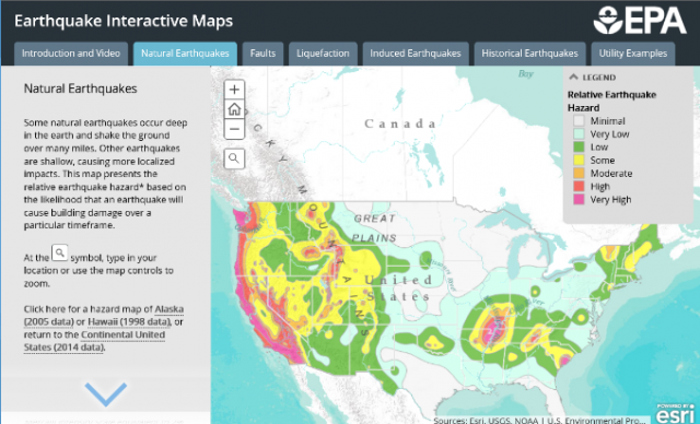 click here to access Earthquake Interactive Map