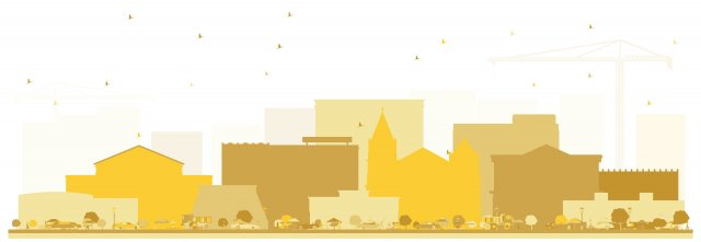 Waterloo, Iowa Skyline Graphic