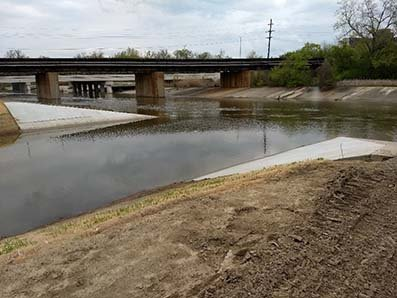 photo of The final phase of the project reconnects the Rouge Oxbow with the Rouge River.