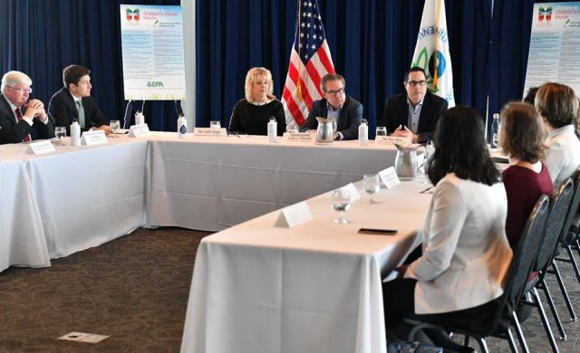 EPA Administrator Wheeler hosts a roundtable on the proposed Lead and Copper Rule with U.S. Reps. Glenn Grothman and Bryan Steil, public health stakeholders, and EPA officials in Milwaukee.