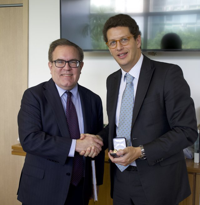 Administrator Wheeler and Minister of the Environment Ricardo Salles participate in a bilateral meeting and sign an MOU.