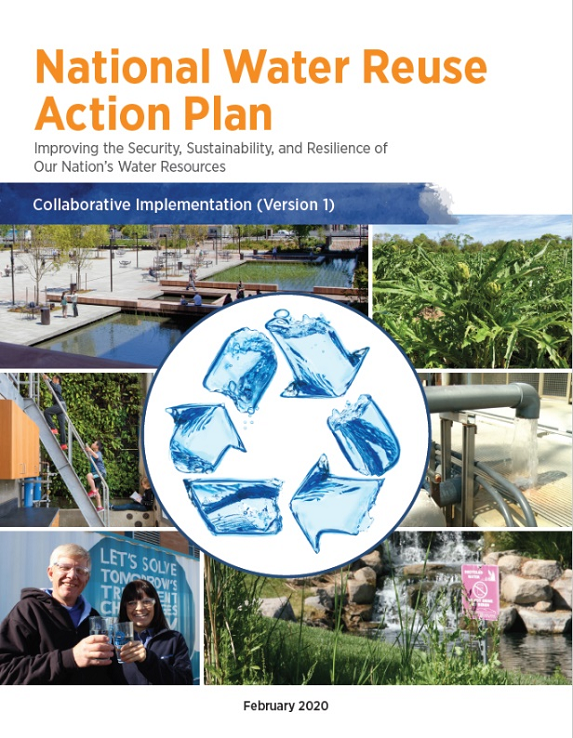 Cover of the National Water Reuse Action Plan: Collaborative Implementation (Version 1)