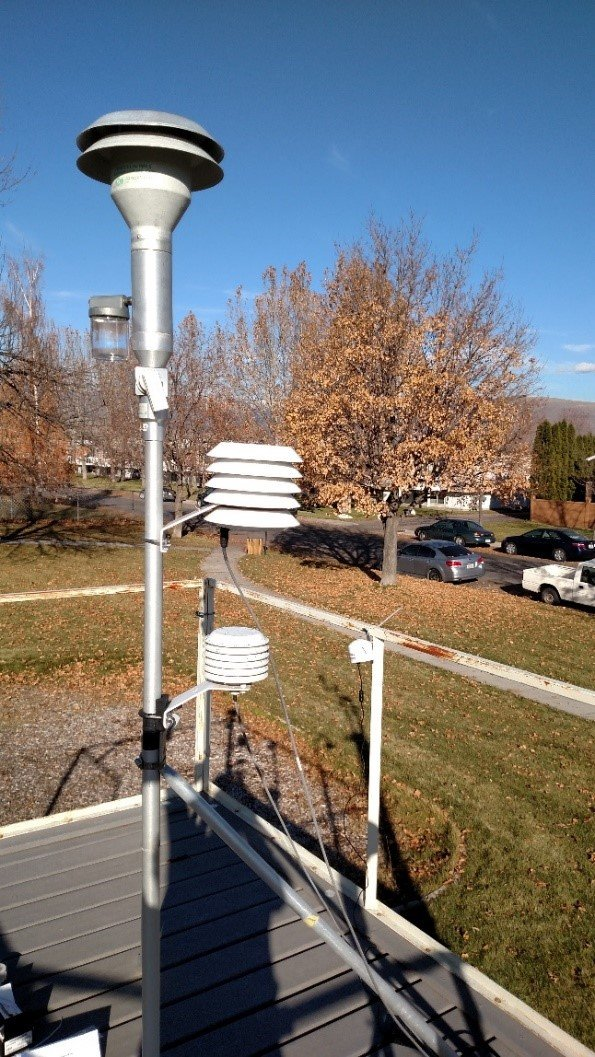 Air sensors operating in close proximity to regulatory-grade or other conventional air quality monitors in Iowa