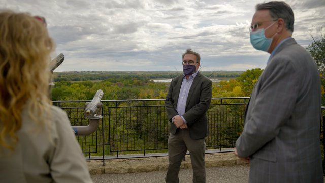 Administrator Wheeler visits the Minnesota Valley National Wildlife Refuge